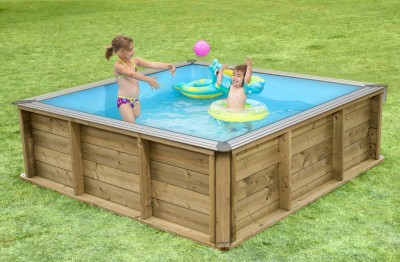 Pistoche piscine évolutive enfants