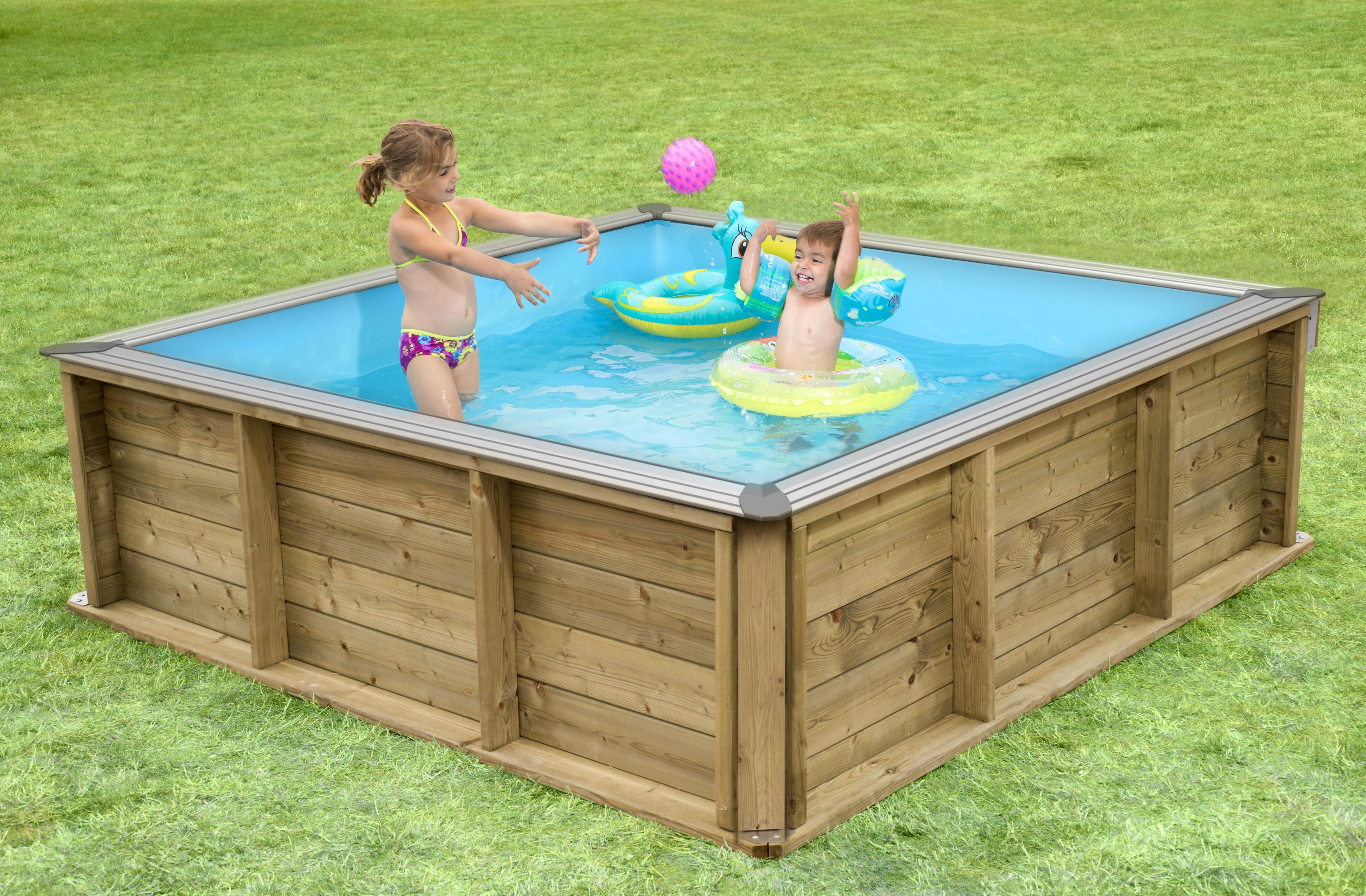 piscine bois 2mx2m