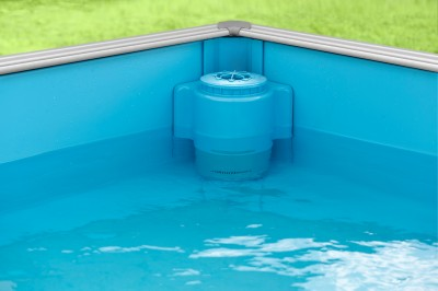 Piscine évolutive, niveau d'eau réglable