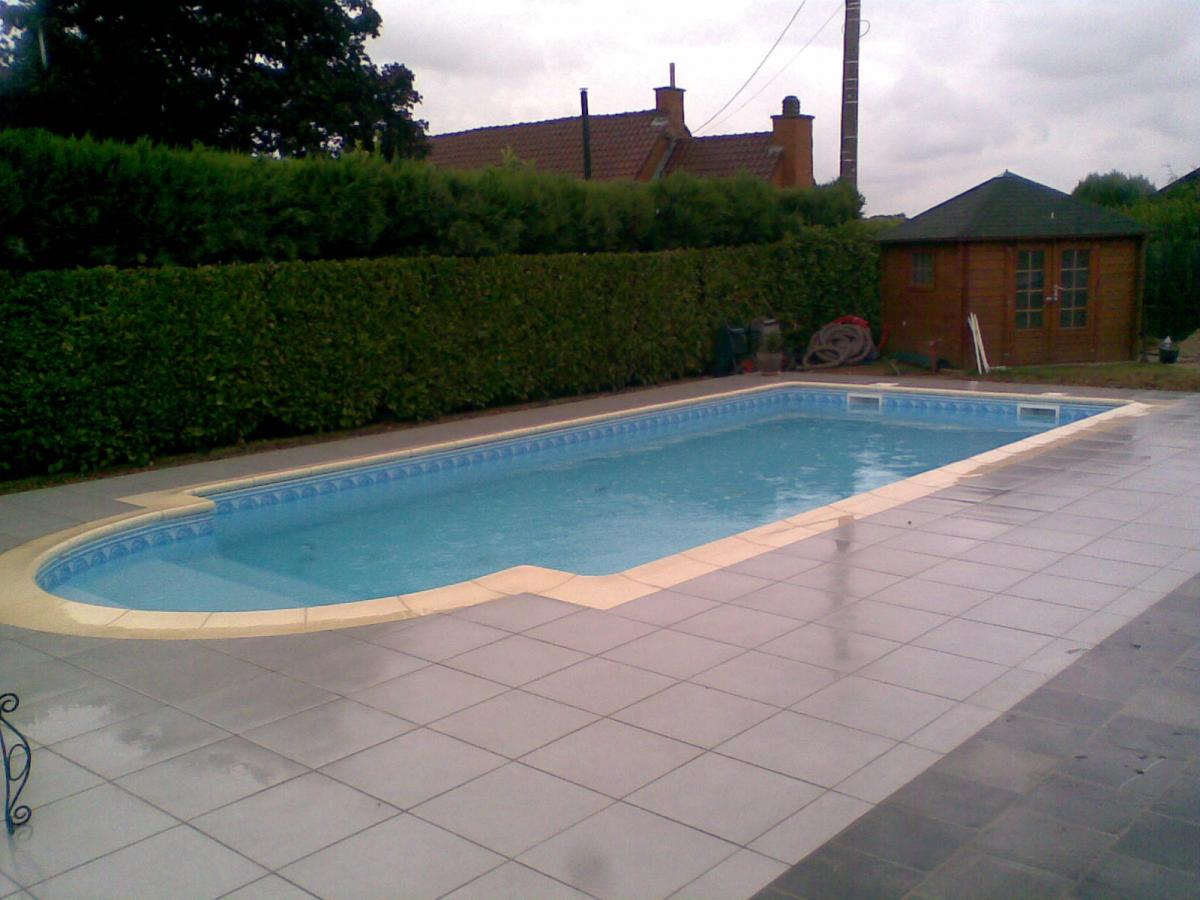 Construction et r alisation de piscine en b ton arm for Realiser sa piscine
